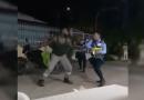 Las disculpas del motociclista que se agarró a golpes con un agente de tránsito