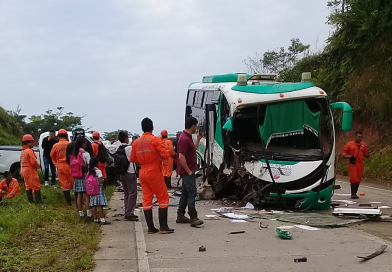 Aparatoso accidente de tránsito deja varios heridos en el bajo Putumayo