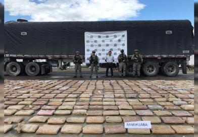Capturado por transportar más de 1300 kilos de marihuana en el Putumayo.