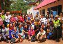 Mujeres del Putumayo siembran la paz en su región.