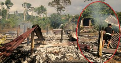 Incendió consumió vivienda de una familia y ahora buscan ayuda para comenzar de nuevo