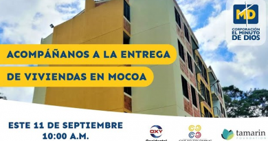 Corporación Minuto de Dios entregará primeras 20 viviendas a damnificados de la avalancha de Mocoa