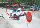 En video quedó registrado aparatoso choque en una esquina de Puerto Asís